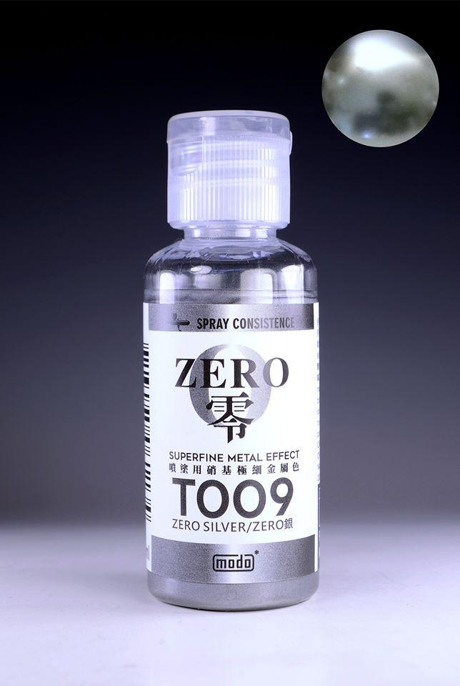MODO T009 Zero Silver (Superfine Metal Effect) - 30ml