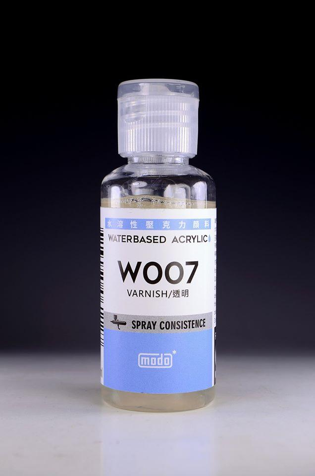 Modo W007 Water-based Acrylic (Propylene) Varnish