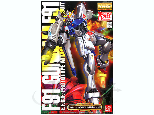 MG 1/100 Gundam F-91 (w/clear parts)