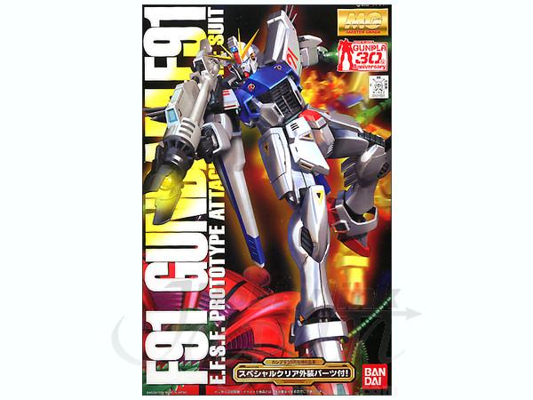 MG 1/100 Gundam F-91 (w/clear parts)