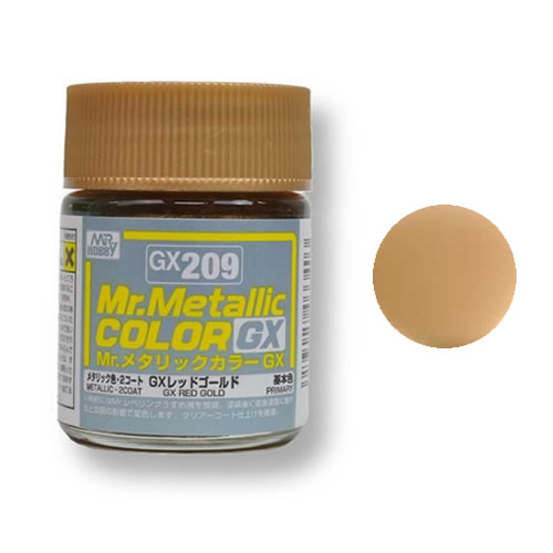 Mr. Hobby-Mr. Color-GX209 Red Gold (18ml)