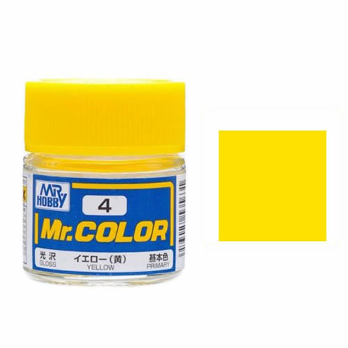 Mr. Hobby-Mr. Color-C004 Yellow (10ml)