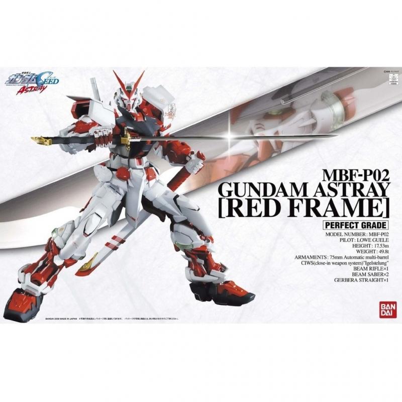 PG 1/60 Gundam Astray Red Frame