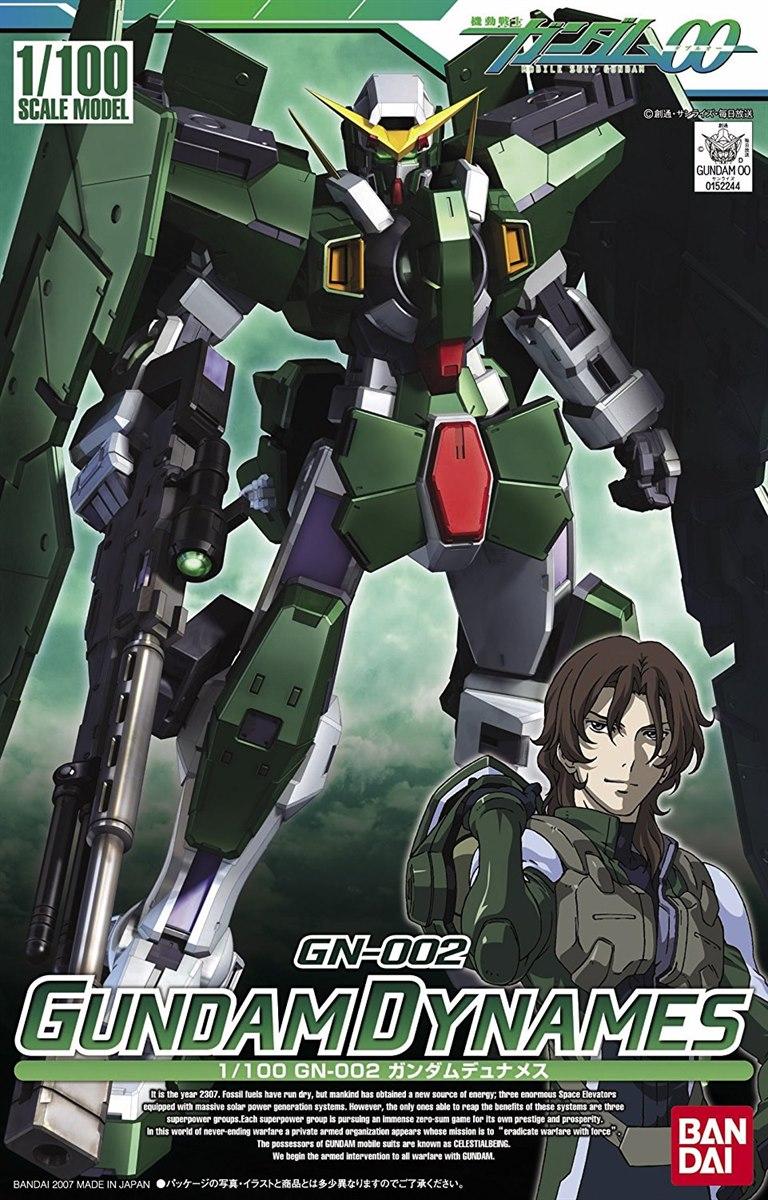 Ng 1 100 Gn 002 Gundam Dynames Bandai Gundam Models Kits