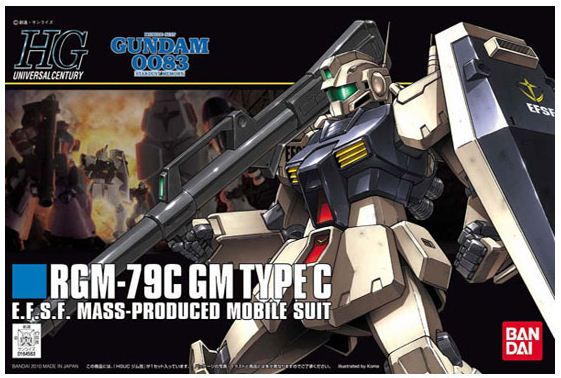 [113] HGU 1/144 RGM-79C GM Type C
