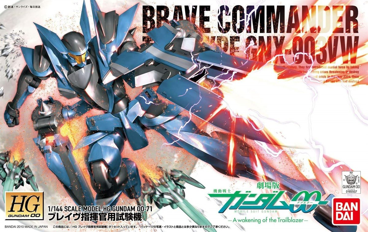 [071] HG 1/144 Brave Commander Test Type