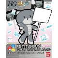 [016]  HGPG 1/144 Petitgguy Surfacer Grey & Placard