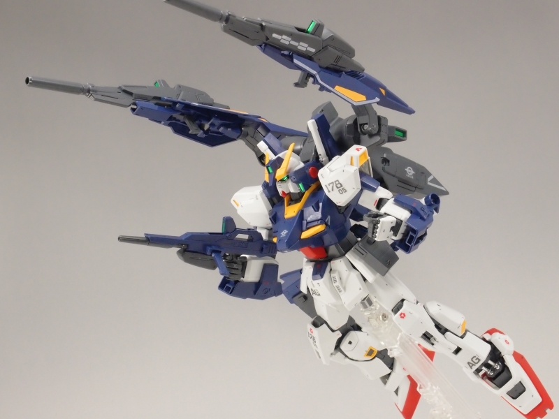 MG 1/100 Build Gundam Mk-II RX-178B | Bandai gundam models ...