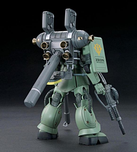 HGGT 1/144 MS-06 Zaku II (Comic Ver.)