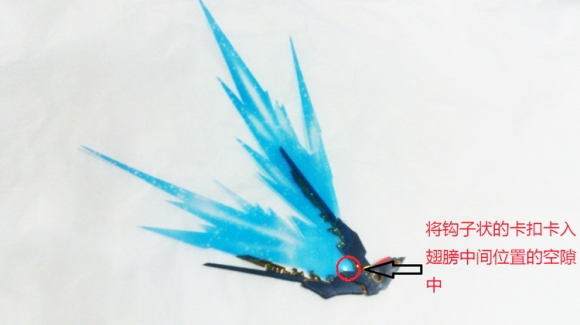 RG Strike Freedom Wing of Light (Wing Accessories)