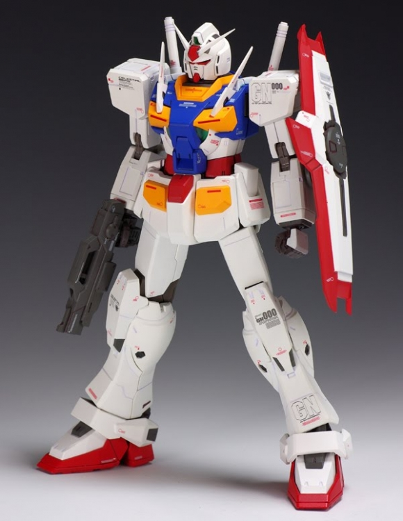 [2 in 1] HG 1/144 Exia Repair II + 0 Gundam A.C.D Type (Twin Pack)
