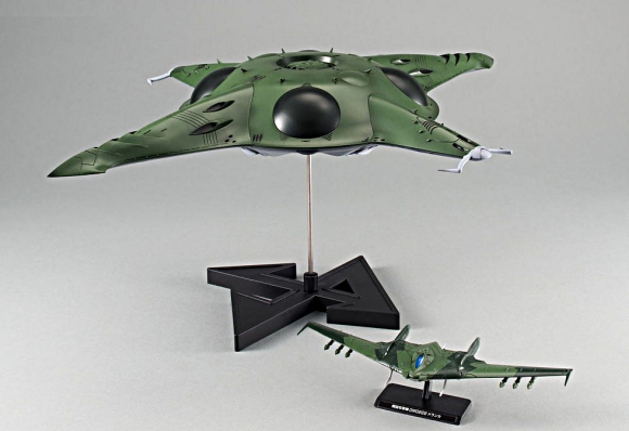 [Battleship Yamato 2199] Pormelia Class Astro Assault Carrier (1/1000)