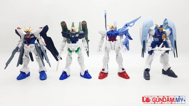 [4 in 1] FG 1/144 Abyss,Sword Strike, Blast Impulse, Strike Freedom Gundam
