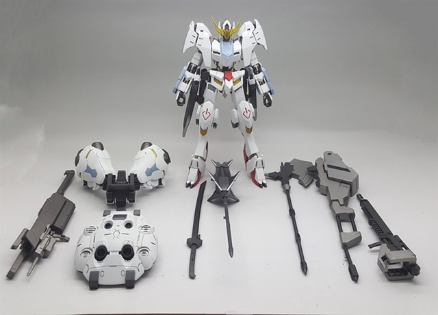 [Custom Build] 1/100 Gundam Barbatos 6th Form