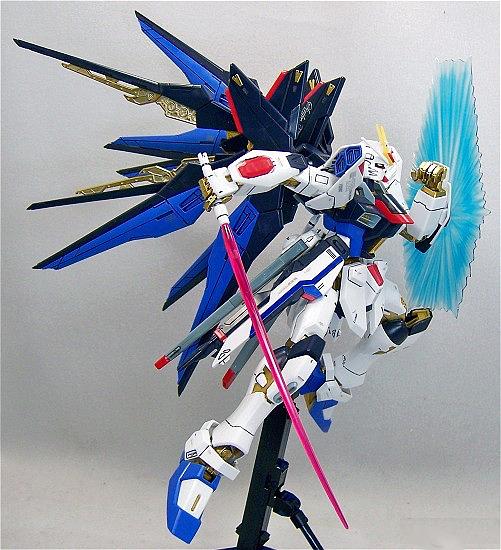 MG 1/100 ZGMF-X20A Strike Freedom Gundam (FULL BURST MODE)
