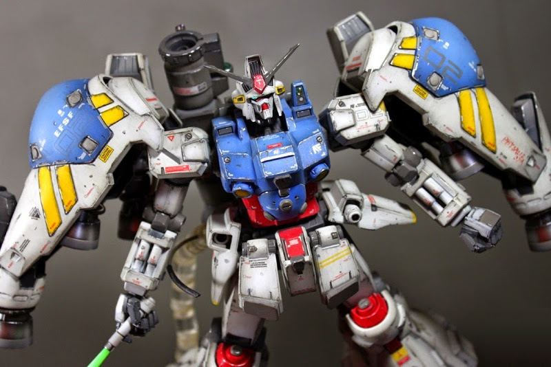 MG 1/100 RX-78GP02A Gundam Physalis