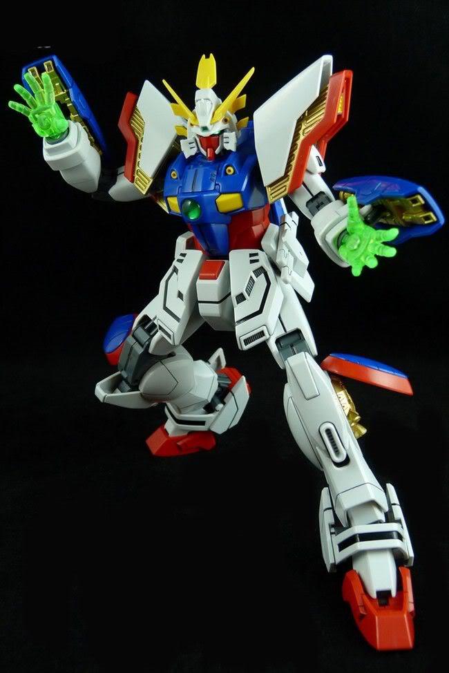 MG 1/100 Shining Gundam | Bandai gundam models kits