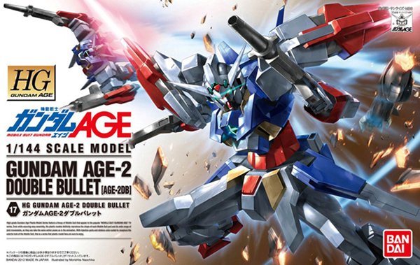 Gundam AGE-2 Double Bullet (HG)