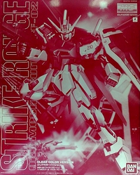 MG 1/100 Strike Rouge Gundam (Clear Color Ver.)