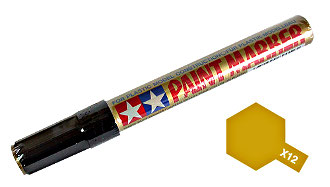 Tamiya X-12 Gold Leaf Color Paint Marker