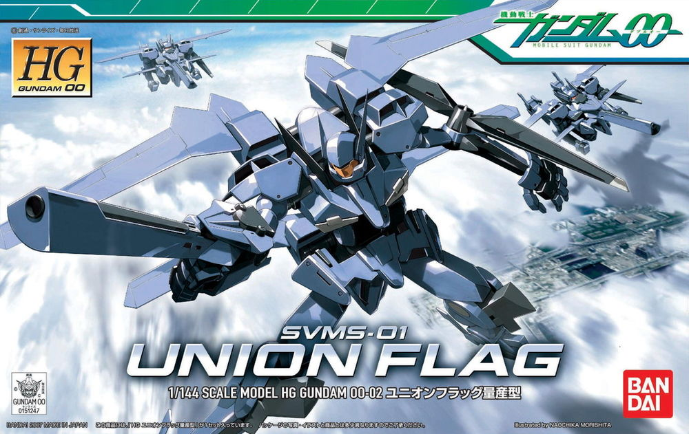[002] HG 1/144 Union Flag Mass Production Type