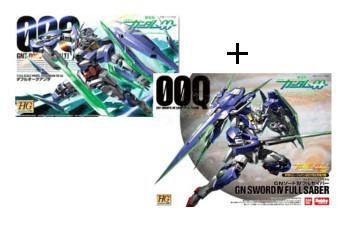 HG 1/144 Gundam 00 Qan[T] + GN Sword Full Saber