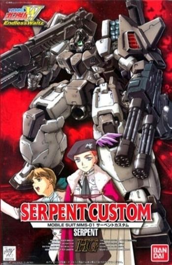 HG 1/100 Serpent Custom