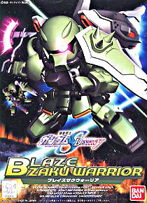 [296] SDBB Blaze Zaku Warrior