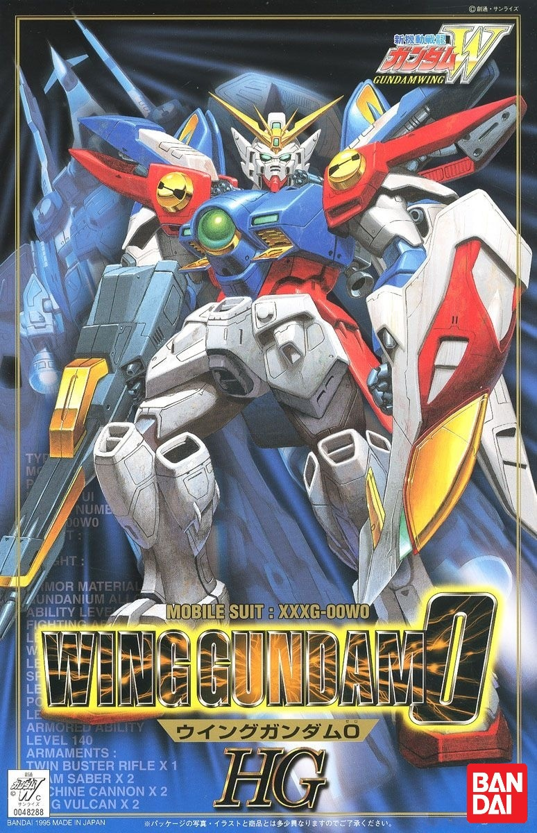 HG 1/100 Wing Gundam 0