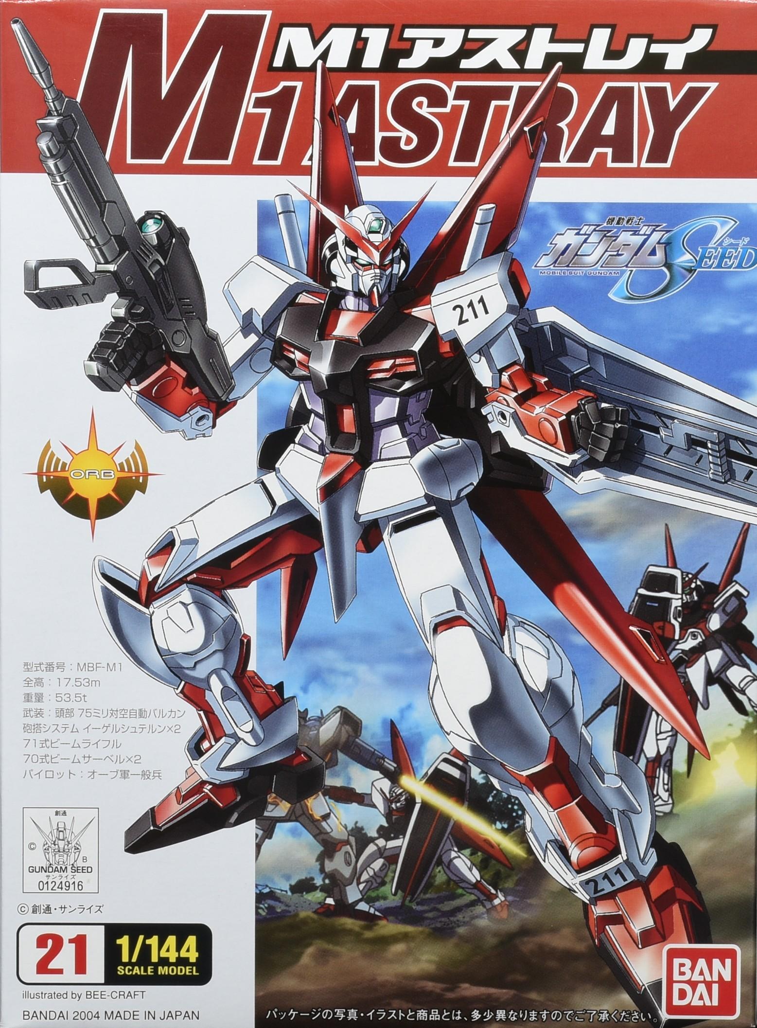 [21] FG 1/144 M1 Astray Gundam