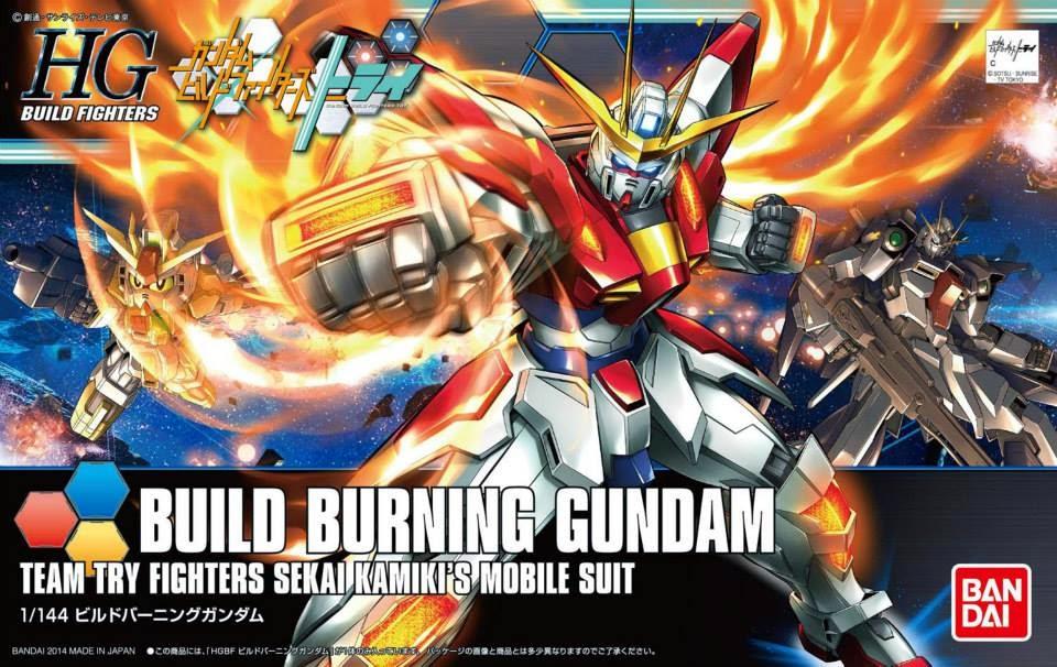 [018] Build Burning Gundam (HGBF)