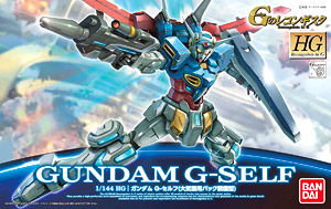 [01] HG 1/144 Gundam G-Self (Atmosphere Pack Equipped)