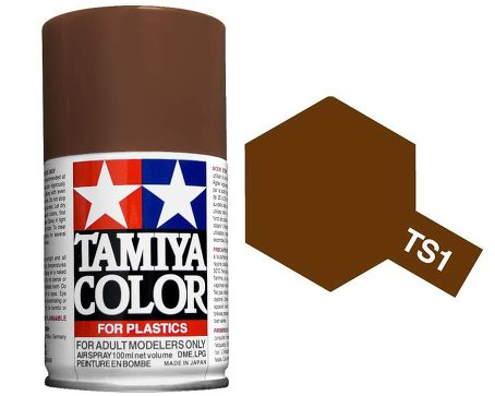 Tamiya Red Brown Spray TS-01