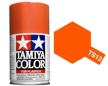 Tamiya Orange Spray TS-12