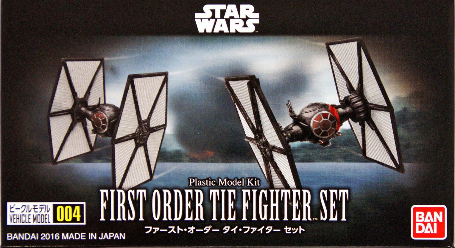 [Star Wars] Vehicle Model 004 First Order Tie Fighter Set
