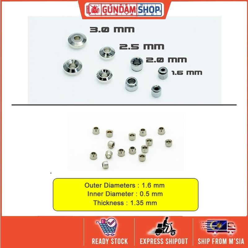 [Metal Part] Aviation Hole 1.6mm for HG / MG Gundam model kits
