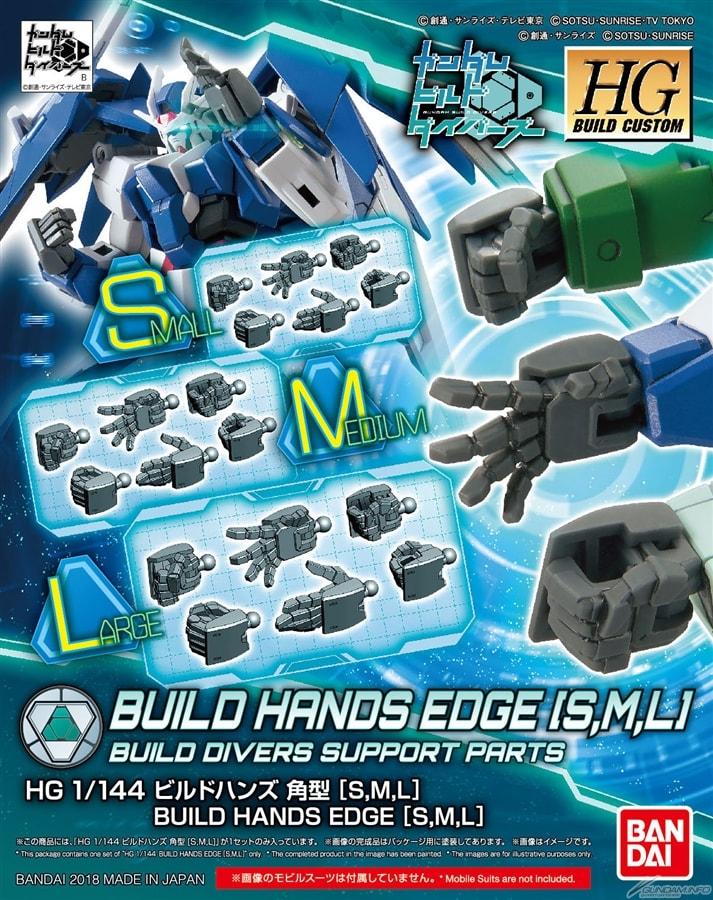 [043] HGBC 1/144 Build Hands [Edge] (S,M,L)