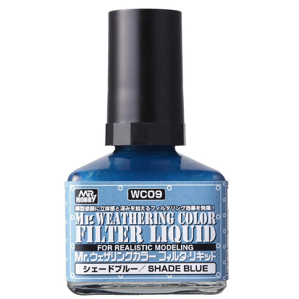 Mr Hobby - MR.Weathering Color Filter Liquid Shade Blue