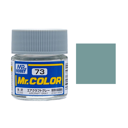 Mr. Hobby-Mr. Color-C073 Aircraft Gray Semi-Gloss(10ml)