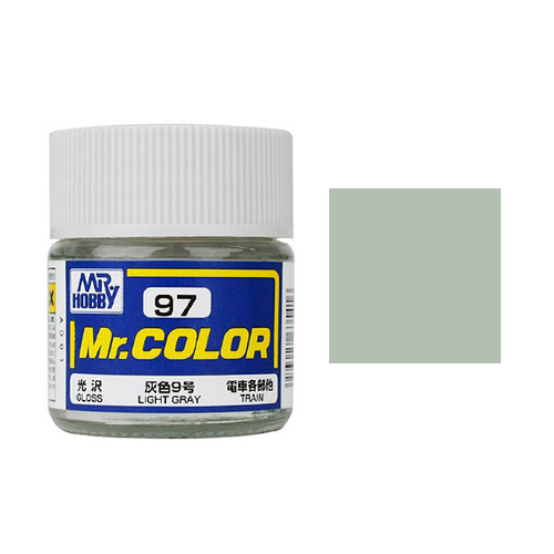 Mr. Hobby-Mr. Color-C097 Light Gray Gloss (10ml)