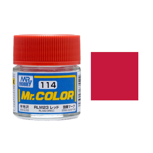 Mr. Hobby-Mr. Color-C114 RLM23 Red Semi-Gloss (10ml)