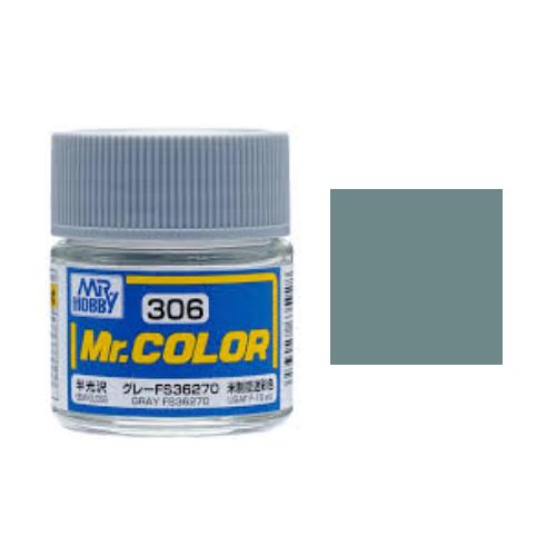 Mr. Hobby-Mr. Color-C306 Gray FS36270 Semi-Gloss (10ml)