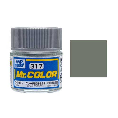 Mr. Hobby-Mr. Color-C317 Gray FS36231 Flat (10ml)