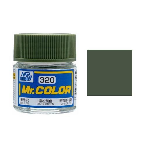 Mr. Hobby-Mr. Color-C320 Dark Green Semi-Gloss (10ml)