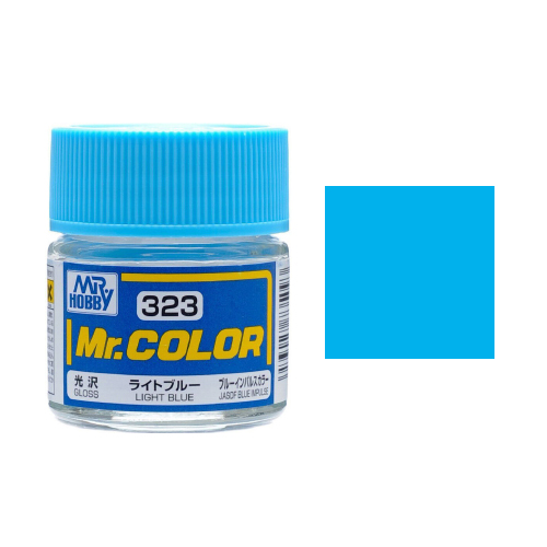 Mr. Hobby-Mr. Color-C323 light Blue Gloss (10ml)