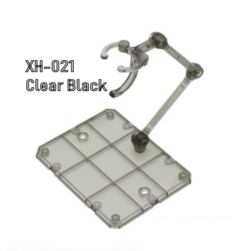 [Third Party] 1/144 Damashii Action Base (Clear Black)