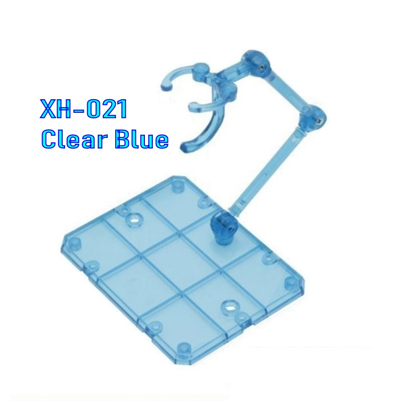 [Third Party] 1/144 Damashii Action Base (Clear Blue)