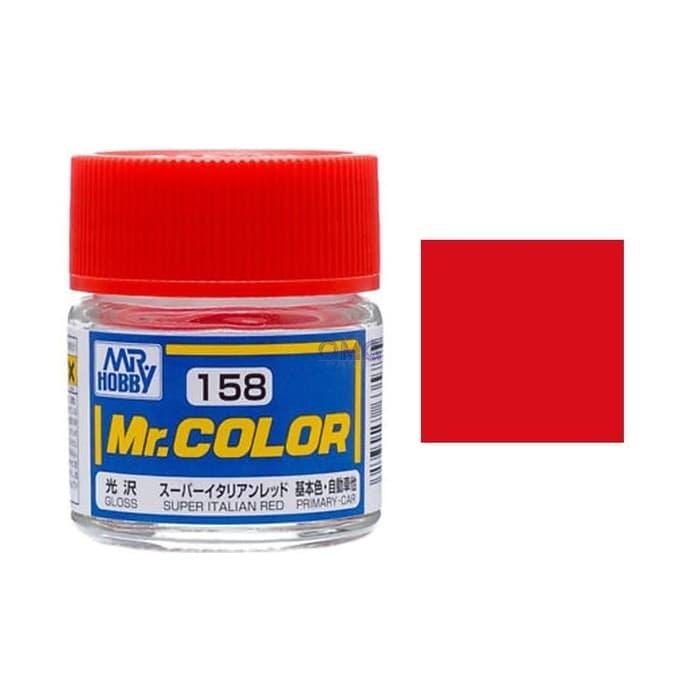 Mr. Hobby-Mr. Color-C158 Super Italian Red Gloss (10ml)