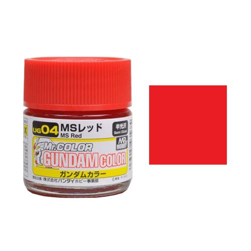 Mr. Hobby-Mr. Color-UG04 MS Red (10ml)
