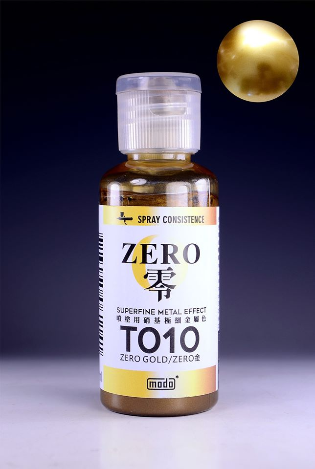 Modo T010 ZERO GOLD (Superfine Metal Effect)